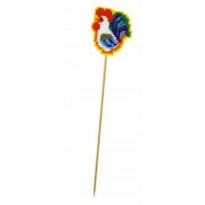 Украшение для цветов. Петушок на палочке Набор для вышивания Риолис