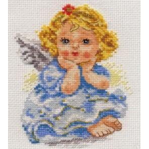 Ангелочек мечты Набор для вышивания Алиса