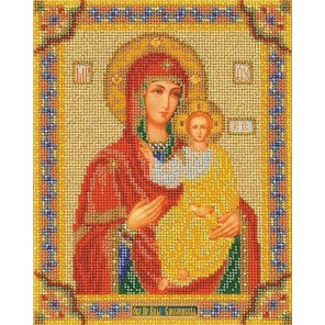 Смоленская Богородица Набор для вышивки бисером Кроше