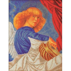Музицирующий ангел. Примо Набор для вышивки бисером Кроше
