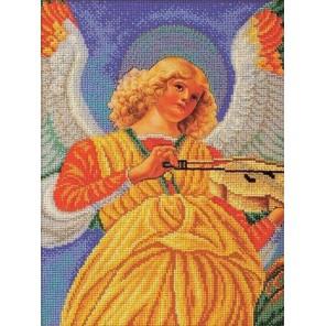 Музицирующий ангел. Секондо Набор для вышивки бисером Кроше