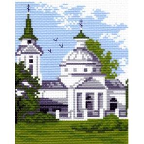 Церковь Ткань с рисунком Матренин посад