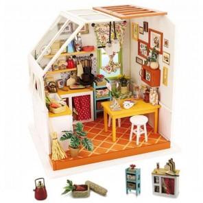 Уютная кухня Набор для создания миниатюры румбокс