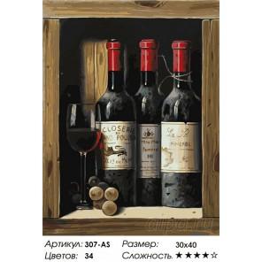 Количество цветов и сложность Коллекционное вино Раскраска картина по номерам на холсте Белоснежка