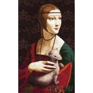 Дама с горностаем Набор для вышивания Золотое Руно