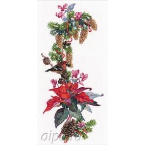Рождественская звезда Набор для вышивания Овен
