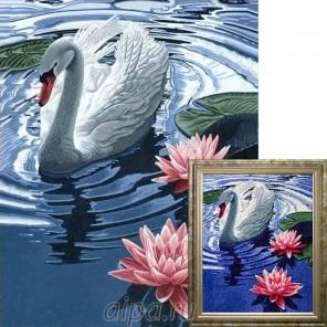 Принцесса-лебедь Алмазная вышивка мозаика Гранни