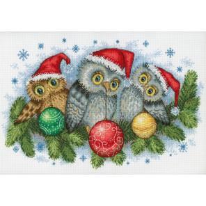 Рождественские помощники Набор для вышивания МП Студия