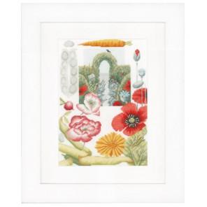 Vegetable Garden Набор для вышивания LanArte PN-0149991