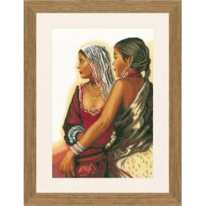 TWO LADIES Набор для вышивания LanArte PN-0021201