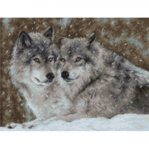 Два волка Набор для вышивания Luca-S