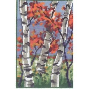 Три березы (осень) Набор для вышивания Permin 92-9128