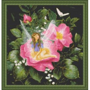 Фея на шиповнике Набор для вышивания Kustom Krafts 98557
