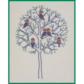 Зима (Времена года) Набор для вышивания Eva Rosenstand 12-262