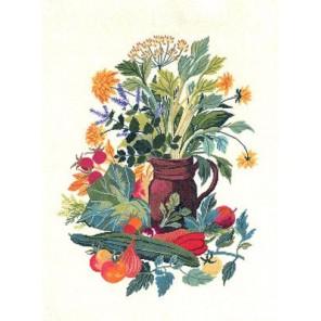 Овощи Набор для вышивания Eva Rosenstand 08-4385