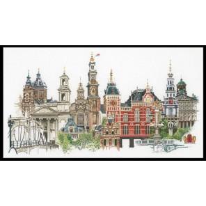 Амстердам Набор для вышивания Thea Gouverneur 450A
