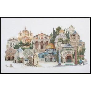 Иерусалим Набор для вышивания Thea Gouverneur 533A
