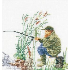 Лов рыбы Набор для вышивания Thea Gouverneur 3034