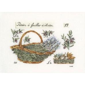 Корзина с лавандой Набор для вышивания Thea Gouverneur 2098