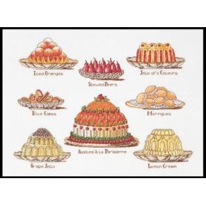 Сладкие блюда Набор для вышивания Thea Gouverneur 2096
