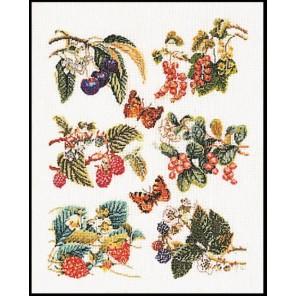 Группа фруктов Набор для вышивания Thea Gouverneur 3021