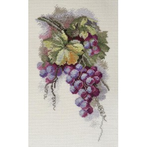 Синий виноград по рисунку С. Амес Набор для вышивания Марья Искусница 04.009.11