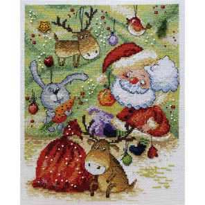 Новогодняя по рисунку В. Кирдий Набор для вышивания Марья Искусница 15.001.09