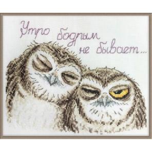 Сони совули по рисунку О. Куреевой Набор для вышивания Марья Искусница 15.002.02