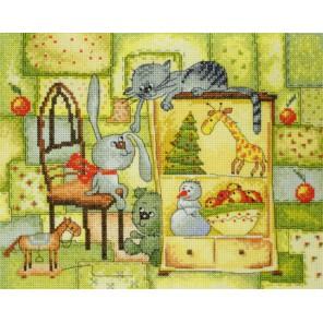 Рождественское одеяло по рисунку В. Кирдий Набор для вышивания Марья Искусница 15.001.18