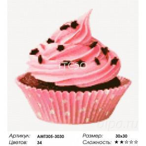 Сложность и количество цветов Клубничный десерт Алмазная мозаика на твердой основе Iteso