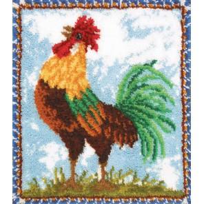 Петух Набор для вышивания коврика MCG TEXTILES