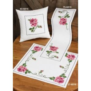 Роза Набор для вышивания подушки PERMIN