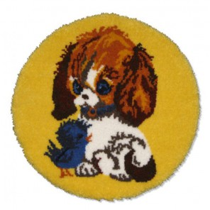 Лучшие друзья Набор для вышивания коврика MCG TEXTILES