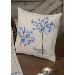 Цветок любви Набор для вышивания подушки PERMIN