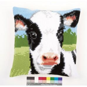 Корова Набор для вышивания подушки VERVACO
