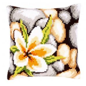 Камни Набор для вышивания подушки VERVACO