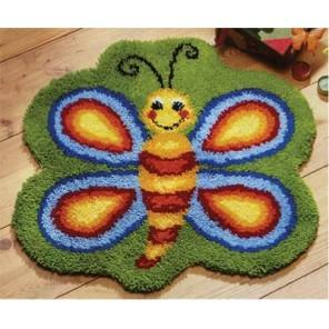 Бабочка Набор для вышивания коврика VERVACO