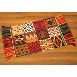 Этнические узоры Набор для вышивания коврика VERVACO