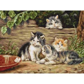 Кошки Набор для вышивания LUCA-S