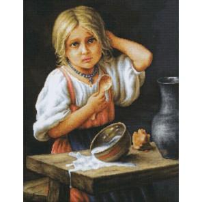 Крестьянка Набор для вышивания LUCA-S