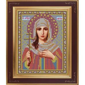 Св. Лариса Комплект для вышивания бисером Икона GALLA COLLECTION
