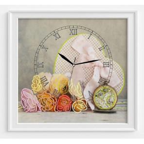 Сердце времени Набор для шитья и вышивания, часы МАТРЕНИН ПОСАД