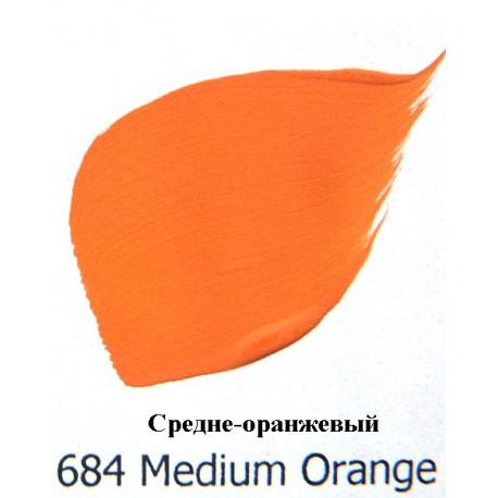 """Акриловая краска FolkArt Plaid """"Средне-оранжевый"""" 684"""