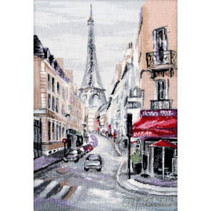 Сердце Парижа Набор для вышивания Овен 1087