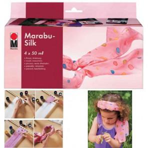 Silk Набор красок Marabu ( Марабу)