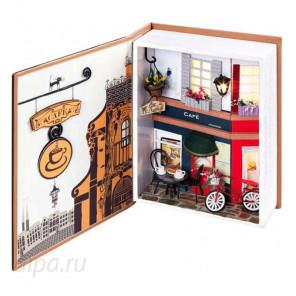 Пражское кафе Набор для создания миниатюры румбокс 005-B