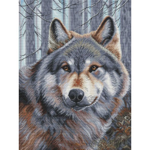 Волк Набор для вышивания Белоснежка 200-14