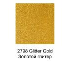 2798 Золотой глиттер Эмалевая акриловая краска Enamels FolkArt Plaid 59 мл.
