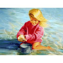 Беззаботное детство Алмазная вышивка мозаика LZE014