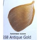 658 Античное золото Металлик Акриловая краска FolkArt Plaid